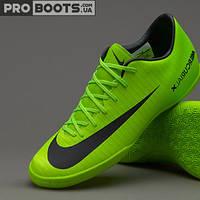 Детские футзалки Nike Mercurial Vapor XI IC Junior Lime