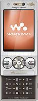 Мобильный музыкальный телефон слайдер Sony Ericsson W705 на одну сим карту, с 3G,  функция Wi-fi