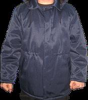 Куртка утепленная с капюшоном, ткань грета