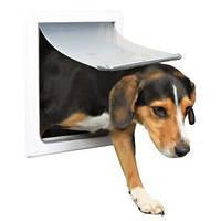Trixie  TX-3878 - дверца для кошек и собак средних пород (30 × 36 см),с металлической панелью