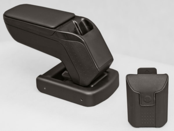 Подлокотник Smart FORTWO 450 2006 Armster 2 Black (с метал.креплением