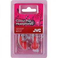 Наушники JVC HA-F11 White/Pink