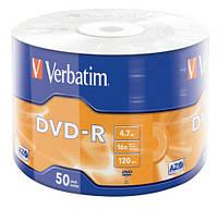 Диск DVD-R Verbatim, 4.7 GB, 16X