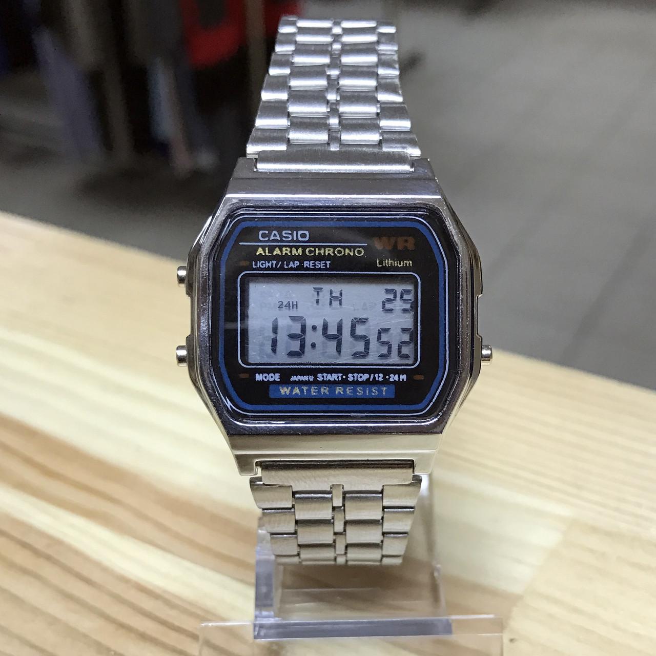 Наручные часы Casio A168WA-1YES серебро (копия), фото 1