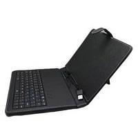 """Обложка-чехол с клавиатурой 7"""" @LUX TL-272, miniUSB, искусств. кожа, черный, разм.: 230x145x30 мм"""