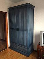 Деревянный шкаф для одежды, фото 1