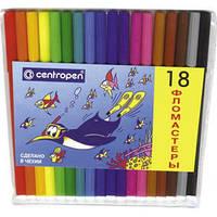 32-168 Фломастеры  Centropen 18 цветов № 7790-18 Чехия
