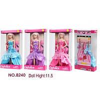 Кукла Defa Lucy 8240  в вечернем платье с сумочкой