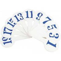32-672 Набор цифр (веер)