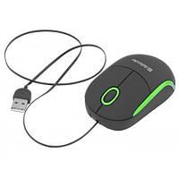 Мышь DEFENDER Discovery MS-630B Black/Green, USB