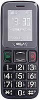 Кнопочный мобильный телефон Sigma mobile Comfort 50-mini3 grey-black