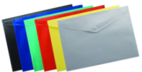 "Папка-конверт ""Buromax"" А5 прозрачная №3937"
