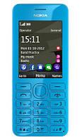"""Мобильный телефон Nokia Asha 206 Dual SIM Cyan / экран 2.4"""" (240x320) / моноблок / камера 1.3 MP / B"""
