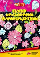 32-1007флуоресцентная Бумага цветная А4 14л./7цветов - односторонняя № 50905-ТК ТИКИ