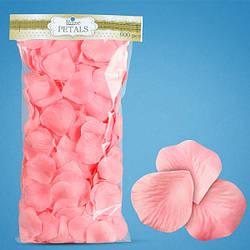 Пелюстки троянд (рожеві) для першого весільного танцю