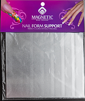 Жестянные листы для формирования арки 4 шт, для моделирования ногтей, для наращивания ногтей  гелем и акрилом