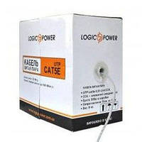 Кабель LogicPower Cat. 5E UTP Cable, 4x2x0,5, сечение 0.51mm