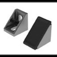 Заглушки на угловые соединители: профиль алюминиевый конструкционный