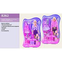 Кукла Defa Lucy 8262 путешественница с одеждой, обувью и аксессуарами