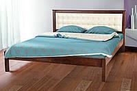 Кровать Карина 1,6м с мягким изголовьем