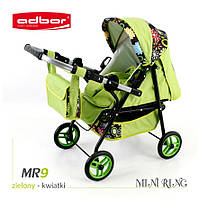 Кукольная коляска  Adbor Mini ring 09