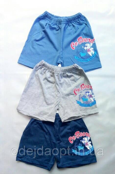 Детские шорты для мальчика от 6 месяцев до 1 годика