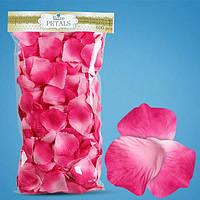 Лепестки роз розовые (градиент) для первого свадебного танца