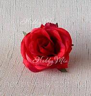 Головка розы мал. _ красная