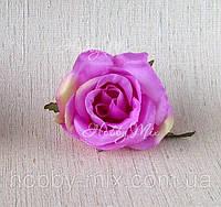Головка розы 4см _ СИРЕНЕВЫЙ