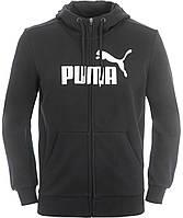 Толстовка спортивная мужская Puma Ess No.1 Fz Hoody 838259-01 пума