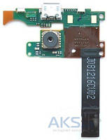 Шлейф для Nokia 7900 Prism c камерой и разъемом зарядки