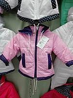 Модная курточка на девочку на флисе