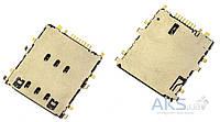 Aksline Разъем SIM-карты для Samsung T3110 Galaxy Tab 3 8.0 / T561 Galaxy Tab E 9.6 3G / T531 Galaxy Tab 4 10.1 3G / T705 Galaxy Tab S 8.4 LTE / T331
