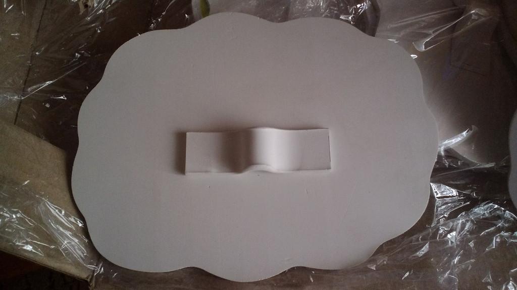 Табличка для грядок, матеріал пластик ПВХ товщиною 4 мм з ламінацією.