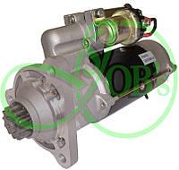 Стартер редукторный 12В 8,1 кВт МТЗ-3022 с двигателем Detroit Diesel Volvo, Ford 123708311