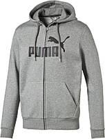 Толстовка спортивная мужская Puma Ess No.1 Fz Hoody 838259-03 пума