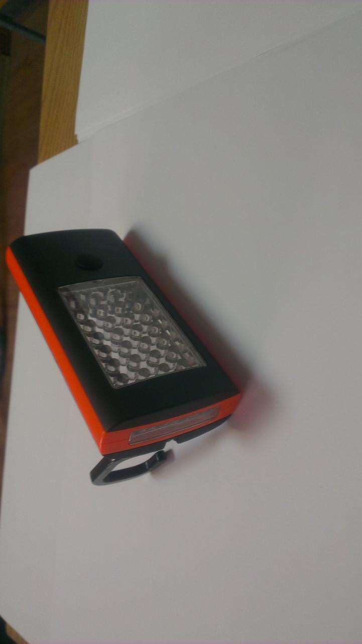 Фонарь LED 28 светодиода с магнитом