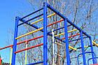 Детский спортивно игровой комплекс с качелями и горкой из нержавейки, фото 5