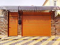 Ворота и калитки роллетные с автоматикой