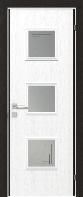 """Дверное полотно """"Spirit"""" со стеклом"""