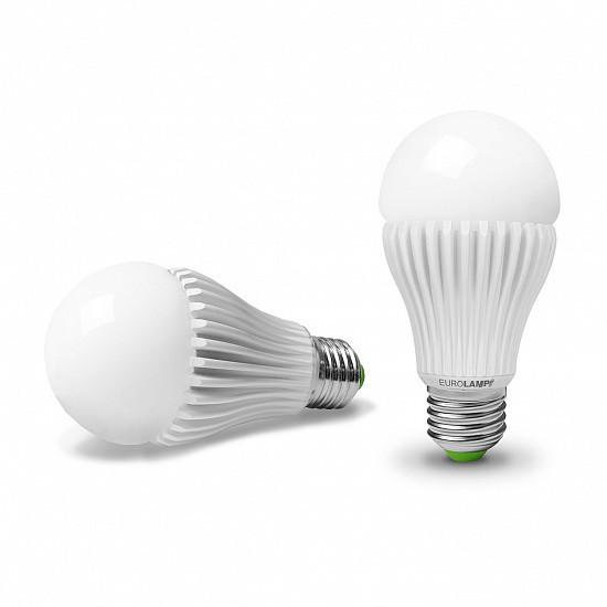 Лампа светодиодная А65 20W E27 4000K 1900 Lm EUROLAMP мощная