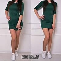 """Женское платье мини с рукавом до локтя """"Надин"""" в разных цветах"""