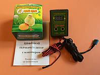 Терморегулятор цифровий с влагомером, двухпороговый -  Цып-Цып
