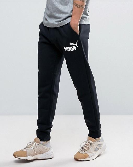 Брюки спортивные, мужские Puma Ess No.1 Sweat Pants 838264 01 пума
