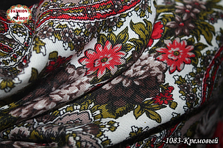 Павлопосадский платок Рубина, фото 3