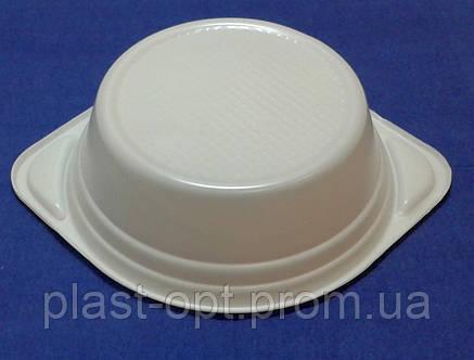 Тарелка 500 мл глубокая 100 шт, фото 2