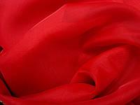Тюль красный шифон оптом, фото 1