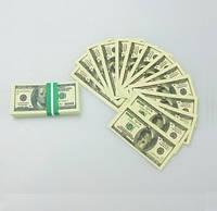 Конфетти 100 $  для первого свадебного танца