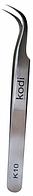 Пинцет для наращивания ресниц К 10