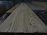 Пол доска 27х135х4000 ЭКСТРА, Сибирская лиственница, шпунтовка, настил деревянный